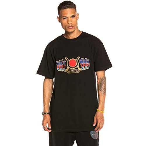 GRIMEY Camiseta Engineering tee FW19 Black-M
