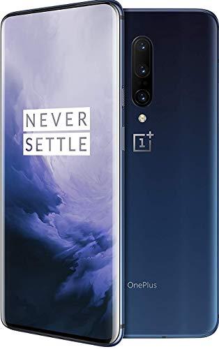 OnePlus 7 Pro GM1925, 8GB RAM + 256GB Memory, Sprint + GSM LTE Unlocked - Nebula Blue.