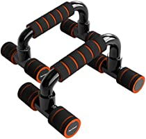 Readaeer Push Up Bars Gym Exercise Equipment Fitness 1 Pair Pushup Handles with Cushioned Foam Grip and Non-Slip Sturdy...