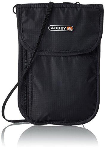 Abbey Portadocumenti da collo, nero (Nero) - 1016675