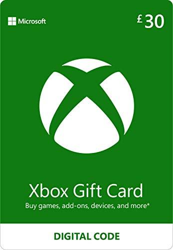Xbox Live £30 Credit [Xbox Live Online Code]