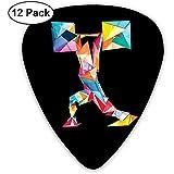 Gewichtheben Cartoon Classic Guitar Pick (12er Pack) für E-Guita Bass