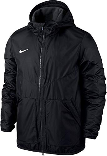 NIKE Yth's Team Fall Jacket Sport jacket, Niños, Black/ Ant
