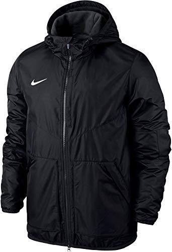NIKE Yth's Team Fall Jacket Sport jacket, Niños, Negro (Bla
