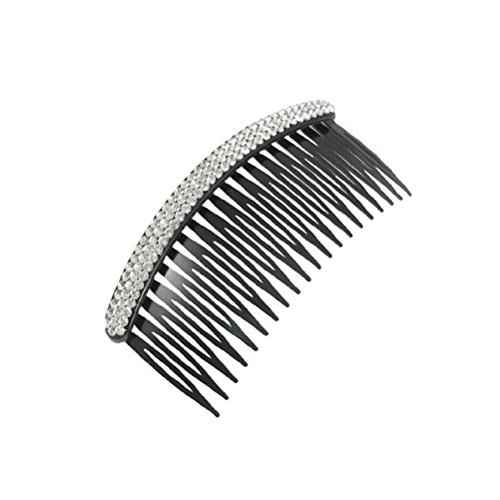Tinksky Hair Comb Slides Hair Pin Clip Hair Accesories for Women Girls (White and Black)