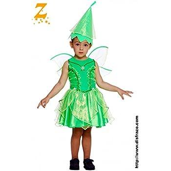 Disfraz de Campanilla (12-24 meses): Amazon.es: Juguetes y juegos