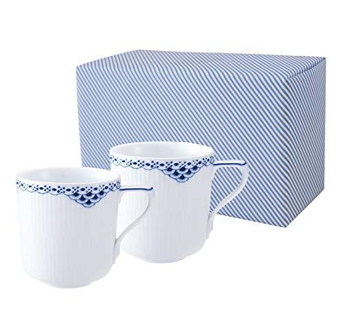 【正規輸入品】 ロイヤルコペンハーゲン プリンセス マグカップ ペア (ギフト包装済)