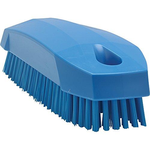 Vikan Hygiene 6440-3 Nail brush,blue, stiff, 130mm /25