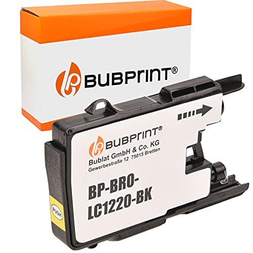 Bubprint Kompatibel Druckerpatrone als Ersatz für Brother LC-1220 LC-1240 LC1220BK LC1240BK für MFC-J430W MFC-J5910DW MFC-J6510DW MFC-J6710DW MFC-J825DW Schwarz
