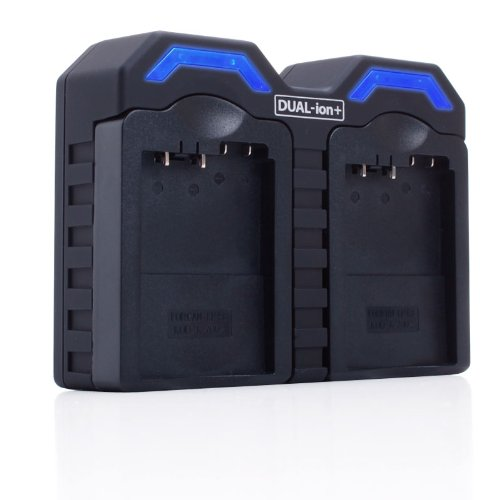 REVIVE Dual-ion Series Dual Home & Car Battery Charger for LP-E8 / LPE8 Batteries - Works for Canon EOS Rebel T4i, T3i, T2i, 600D & 550D Digital SLR Cameras