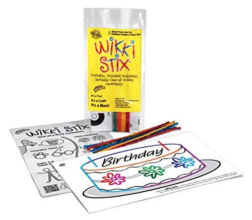 WikkiStix Birthday Fun Favors, Pack of 20 Molding & Sculpting Sticks (Special Edition)