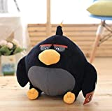 NC56 Plush Toy 32Cm Angry Bird Series Black Bird Doll Toy for Merry Christmas