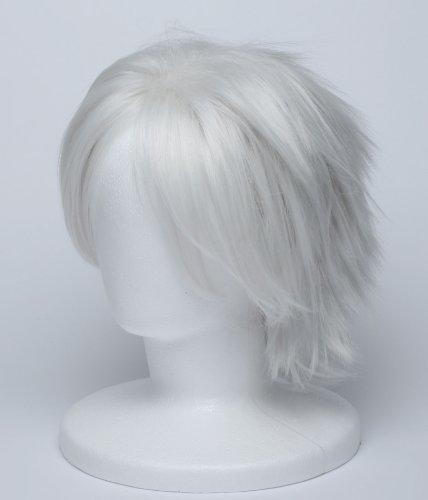 『【コスプレ】 ウィッグ NARUTO はたけカカシ 風 白髪 銀髪 衣装 道具 小物 ナルト ウィッグネット カカシ』のトップ画像
