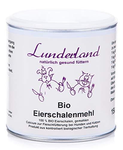 Lunderland Farina di Guscio d'Uovo Biologico Bio - 150 gr