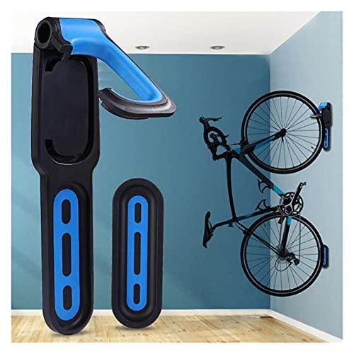 YPASDJH Ganchos de Garaje, Bike Wall Hook Holder Soporte práctico Montaña Bicicleta Montado Montado Montado Estante Colgador Necesario Suministros de Ciclismo Al Aire Libre para Bicicleta