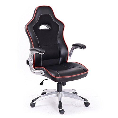 LE MANS Silla sillón de oficina giratoria escritorio estudio para jugar