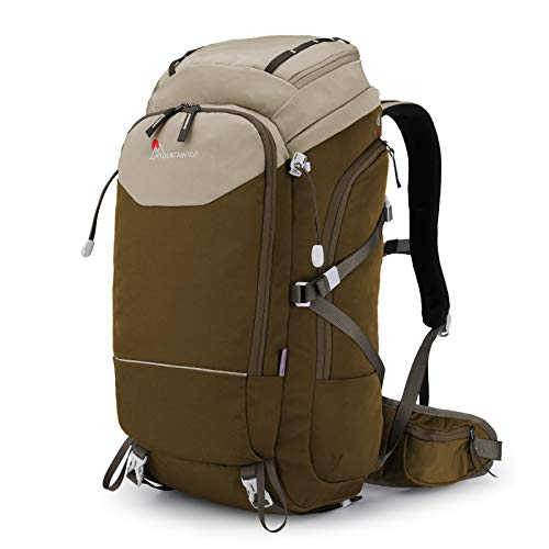 MOUNTAINTOP 40L Unisex Hiking Backpack Water Resistant Travel Backpack for Outdoor