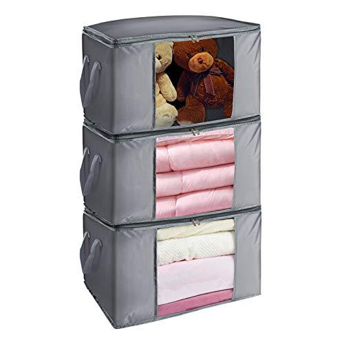 90升大容量衣物收纳包 3个