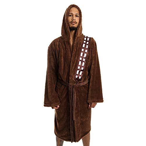Star Wars Chewbacca Bademantel Fleece Robe braun
