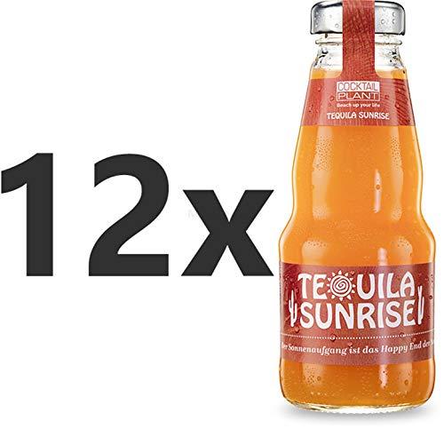 Cocktail Plant Tequila Sunrise (10,1% Vol) 12x 0,2l = 2,4l - inkl. Pfand MEHRWEG - [Enthält Sulfite]