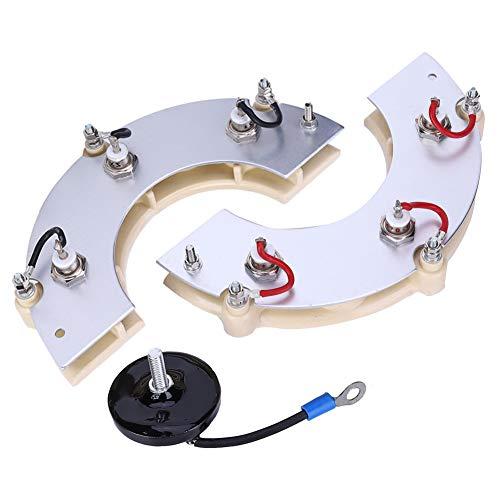 Accesorios para grupos electrógenos, rectificador de tensión soportada, rueda rectificadora de generador, diodo Zx25A-12P de alta calidad para rectificación de excitación de generador sin