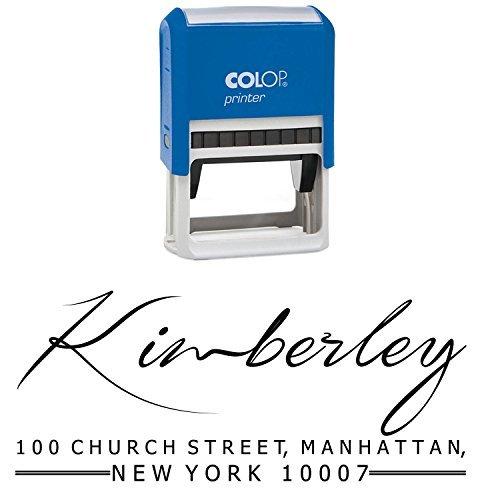 Rücks Unterschrift Stempel Pre-Inked Kalligraphie Personalisierte Stamper Selk Ink