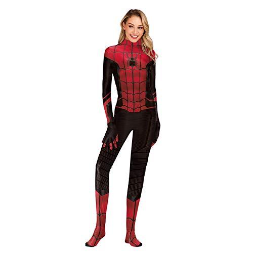BCOGG Capitán Marvel Aquaman Mera Ladybug Girls spiderman my hero academia cosplay disfraz disfraces de halloween para mujeres Monos XXL como se muestra