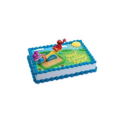 Amazon Com Bakery Crafts Sesame Street Elmo And Abby