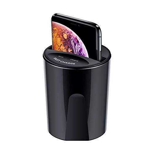 Fast Wireless Car Charging Cup