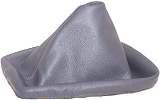 For BMW E36 E46 1991-05 Shift Boot Grey Genuine Leather