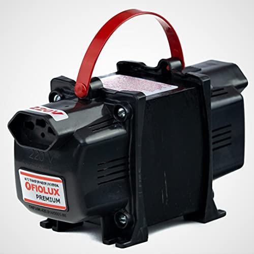 Transformador Fiolux Premium Tripolar 500VA Bivolt 110/220 e 220/110 Ref: 500 VA