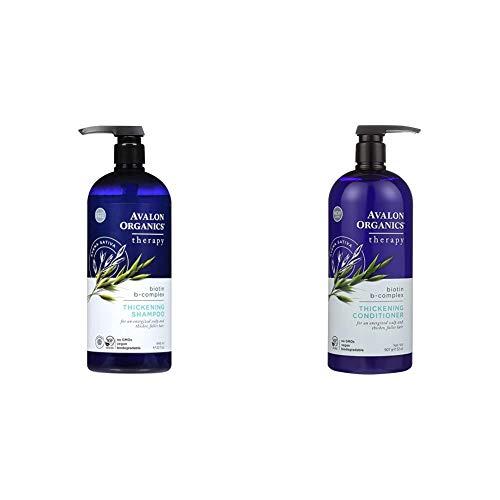 Avalon Organics Therapy Thickening Shampoo, Biotin B-Complex, 32 Oz