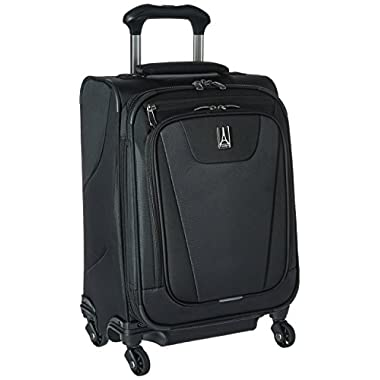 Travelpro Maxlite 4 International Carry-On Spinner Suitcase, Black
