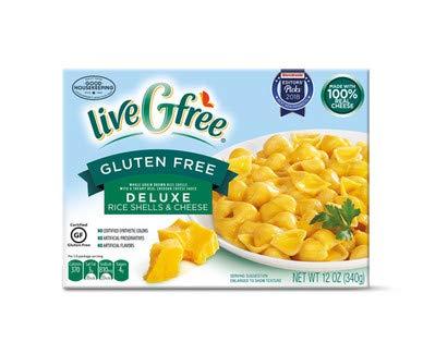 LiveGfree Gluten-Free Deluxe Rice Pasta & Cheese - 12 oz.