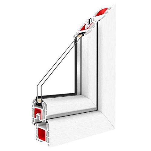 Kunststofffenster Drutex IGLO 5 Fenster 5-Kammer Dreh Kipp, Anschlag:DIN Rechts, BxH:600x1000 (60x100 cm), Glas:3-Fach