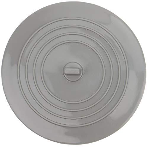 Universal Stöpsel für Spülbecken & Waschbecken, mit 15 cm Durchmesser, für alle Abflüsse bis 120 mm, aus Silikon, perfekt für Küche & Bad, nicht schmutz-anfälliger Abfluss-Stöpsel, Ablaufstöpsel grau