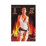 Mexikanische Schauspielerin Salma Hayek 21 Leinwand-Poster,