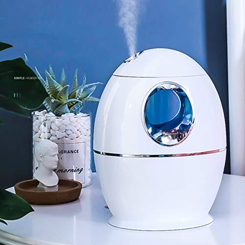 Dongbin 1000Ml Kalter Nebel Luftbefeuchter, Innen-Ultraschall-Luftbefeuchter, Luftreiniger, Ultra-Leise, Automatische Abschaltung Ohne Wasser, Sieben-Farben-Nachtlicht-Funktion
