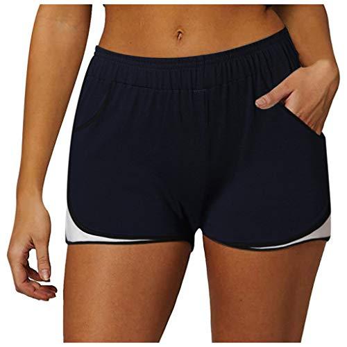 Letdown (TM) - Pantalones cortos para mujer de moda para mujer, de verano, 2020
