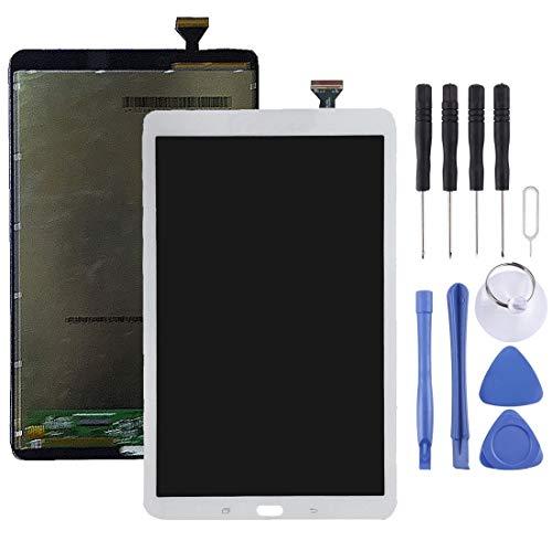 GBHGBH ES Pantalla LCD y digitalizador Asamblea Completa for la lengüeta E 9.6 / T560 / T561 / T565 (Gris) (Color : Blanco)