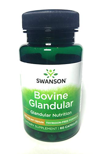 Thyroid Glandular (Thyroxin-Free) 200 mg 60 Caps