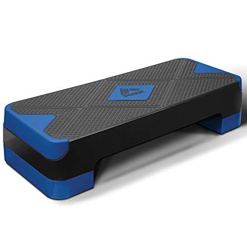 RBX Multi Level Platform Fitness Step Blue