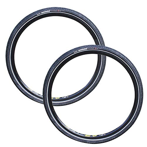 DUXIUYING Neumático de Bicicleta de montaña 26 * 1,75 y Kit de reparación de neumáticos de Bicicleta, 2 Unidad,Puncture Level 1