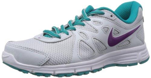 D1864 Sneaker Donna NIKE Revolution 2 MSL Grigio Chiaro Shoe Woman