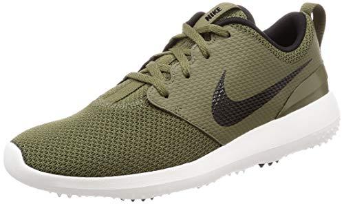 Nike Men's Roshe G Golf Shoes(Olive/Black/Summit White,11,D (M) US)