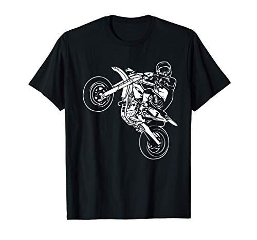 Supermoto Supermotard Enduro Moto Cross Camiseta