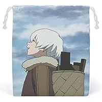不滅のあなた 巾着袋 給食袋 (20x25cm) 小物入れ コップ袋 こども お弁当 PANMAX 男の子 女の子 おしゃれ かわいい キャラクター