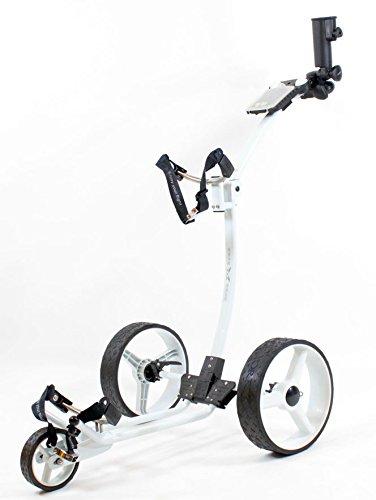 Yorrx Slim Lion Pro 5 PLUS (blanc) chariot de golf / chariot...