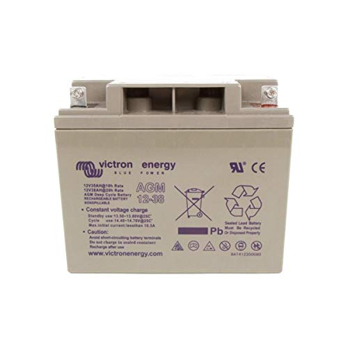 Victron Energie - Batterie solaire AGM Deep Cycle 38Ah