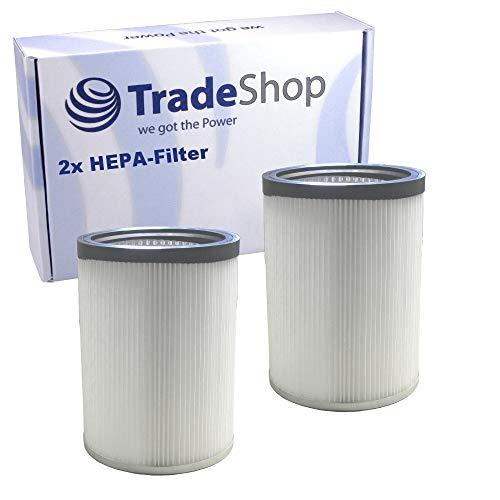 2x HEPA Zylinder-Filter Luftfilter ersetzt 6.907-038.0 für Kärcher NT 50/1 NT 70/1 NT 70/2 NT 70/3 Me NT 90/2 Me Nass- und Trockensauger